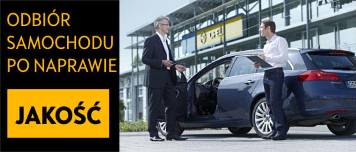 Serwis blacharsko-lakierniczy Opel AutoŻoliborz
