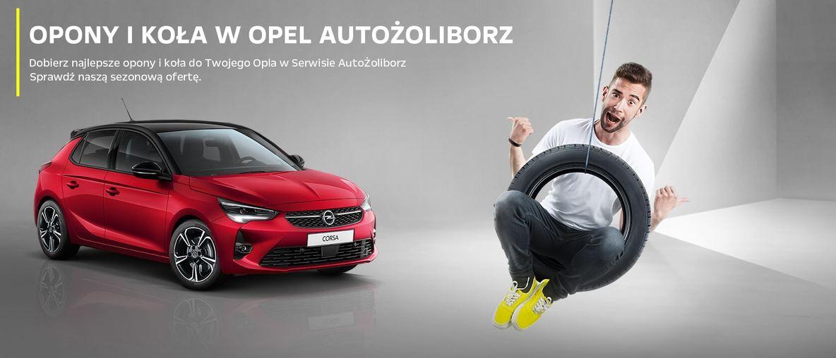 Oferta opon i kół w Opel AutoŻoliborz. Opony letnie, wielosezonowe i zimowe. Warszawa, Rudnickiego 3, tel. 22 336 10 00