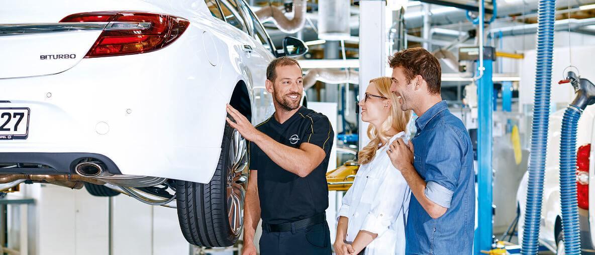 Serwis mechaniczny Opel Marimex