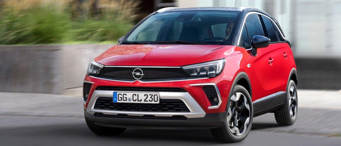 Premiera nowy Opel Crossland