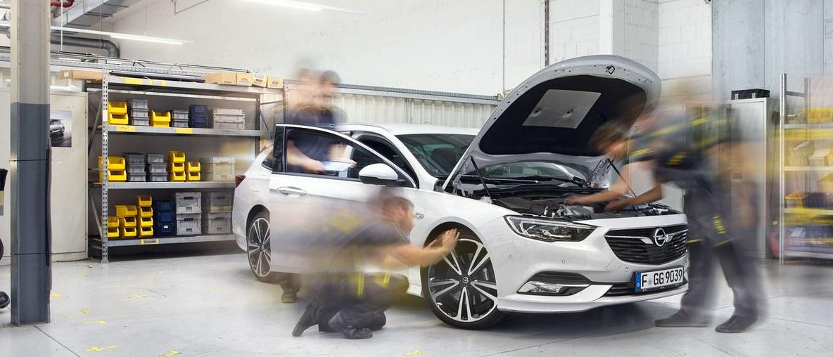 Promocje serwisowe Opel