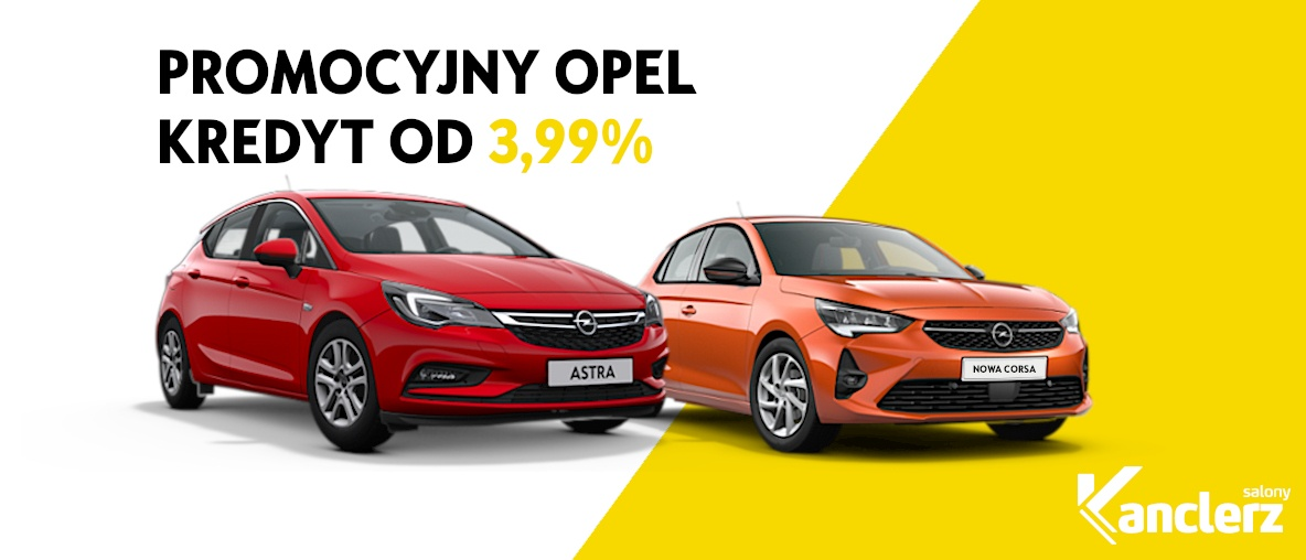 Opel z super niską ratą miesięczną