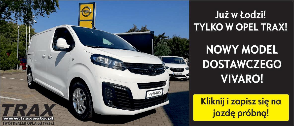 Jazda próbna - Nowy Opel Vivaro.