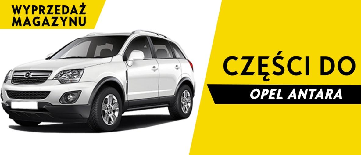Części do Opel Antara