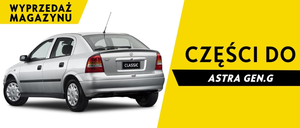 Części do Opel Astra G