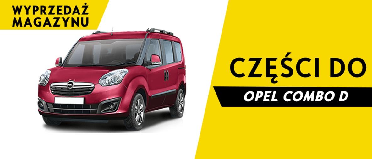 Części do Opel Combo D