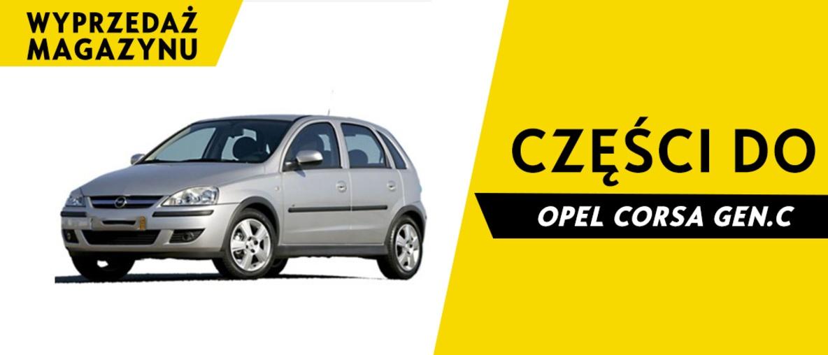 Części do Opel Corsa C
