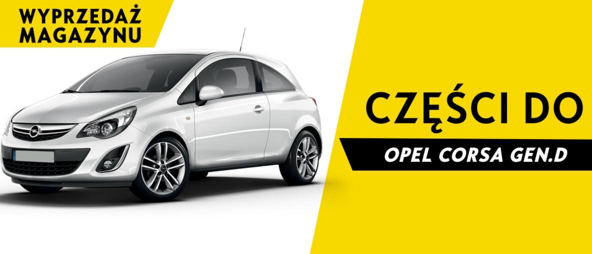 Części do Opel Corsa D