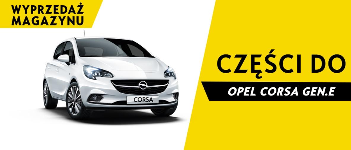 Części do Opel Corsa E