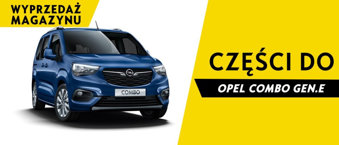 Części do Opel Combo E