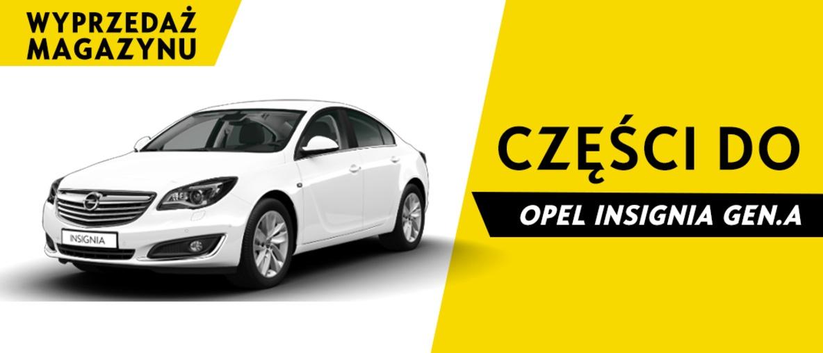 Części do Opel Insignia A