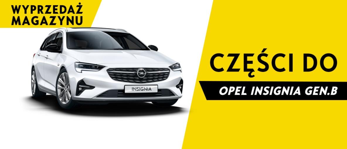 Części do Opel Insignia B