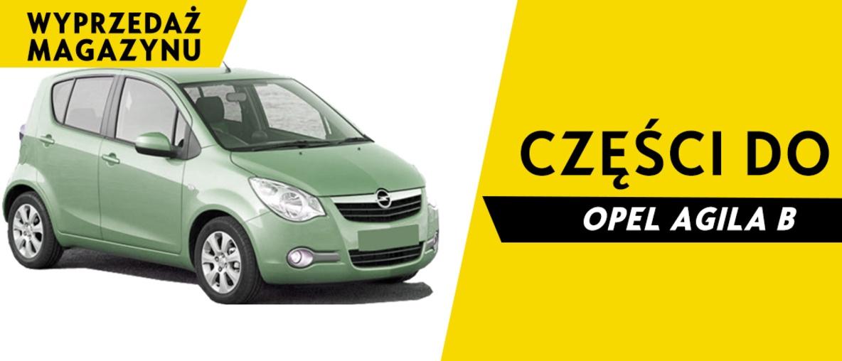 Części do Opel Agila B