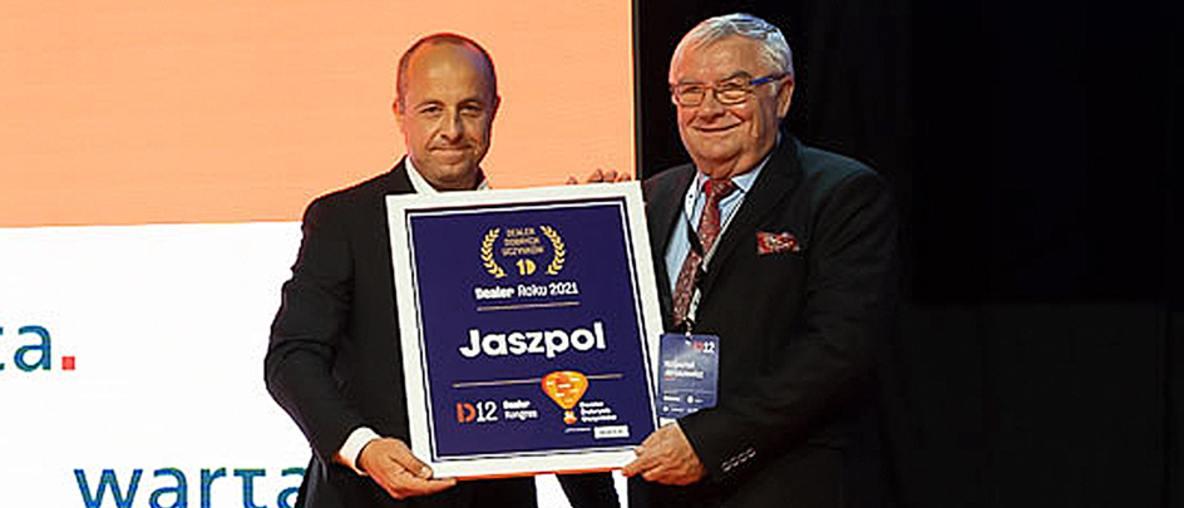 Jaszpol Dealerem Roku w Kategorii Dealer Dobrych Uczynków