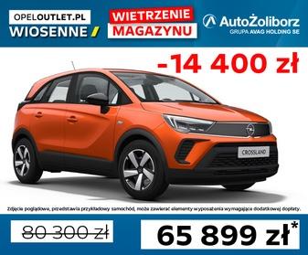 0003XA1F Opel Crossland Edition F1.2XE MT5 83KM Start&Stop