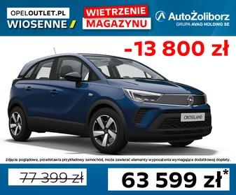 0013XASK Opel Crossland Edition F1.2XE MT5 83KM Start&Stop