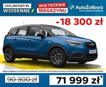 0018WTDM Opel Crossland X Edition 2020 F1.2XHT MT6 110KM S/S