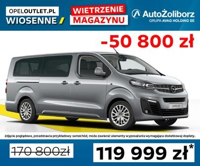 Opel ZAFIRA LIFE BUSINESS 1.5D 120KM MT6 0024WN1V