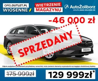 Opel Insignia Sprzedany w OpelOutlet AutoŻoliborz