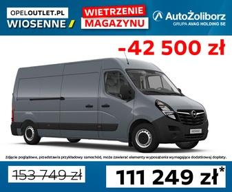 0056XB1X Opel Movano Furgon FWD L3H2 3,5t (XZ27), 2.3 Turbo D 180 KM