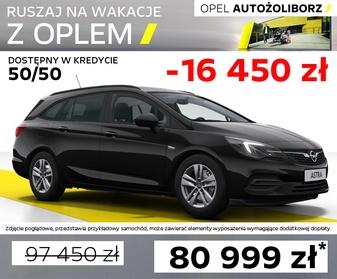 Opel Astra 0077WW65 w Opel Outlet AutoŻoliborz Warszawa, Rudnickiego 3, tel 22 336 10 55