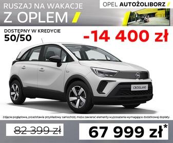 Opel Crossland 0051XCRP w Opel Outlet AutoŻoliborz Warszawa, Rudnickiego 3, tel 22 336 10 55