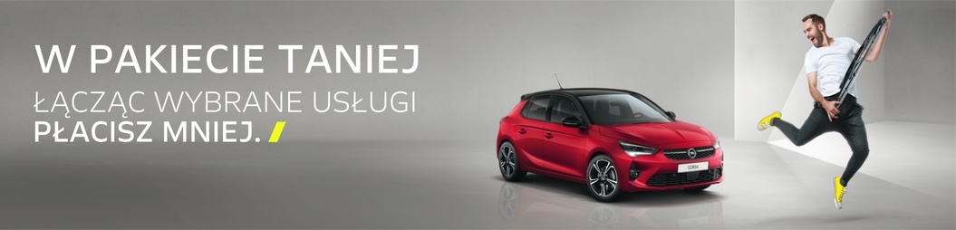 Wiosenna oferta serwisu Opel AutoŻoliborz