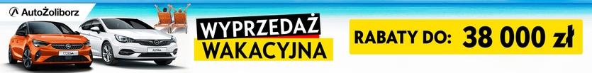 Wyprzedaż Wakacyjna w salonach Opel AutoŻoliborz Warszawa oraz Piaseczno.