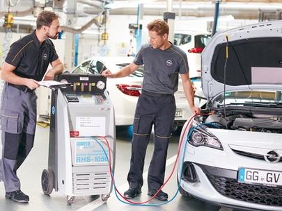 Profesjonalny serwis układu klimatyzacji w Serwisie Opel AutoŻoliborz