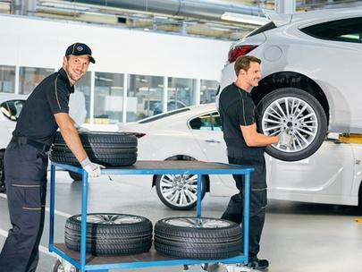 Sezonowa wymiana kół w Serwisie Opel AutoŻoliborz