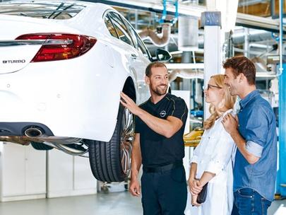 Przegląd wiosenny w Serwisie Opel AutoŻoliborz