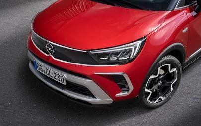 Nowy Opel Crossland po liftingu