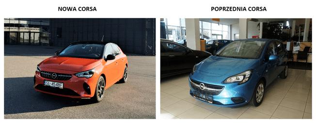 Porównanie Opel Corsa F vs Opel Corsa E