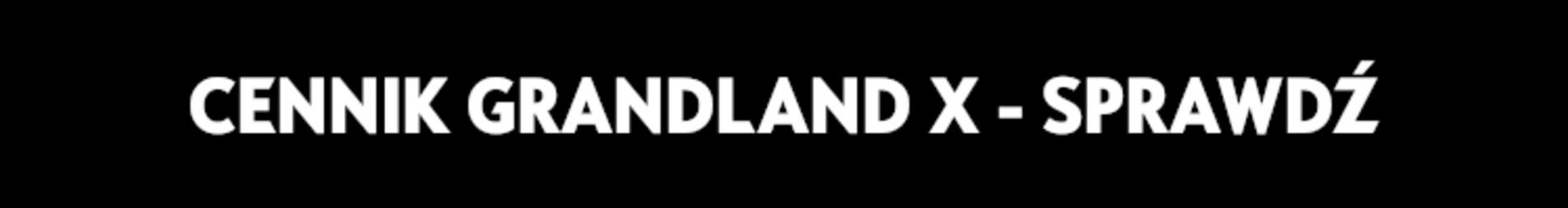 Cennik Opel Grandland X