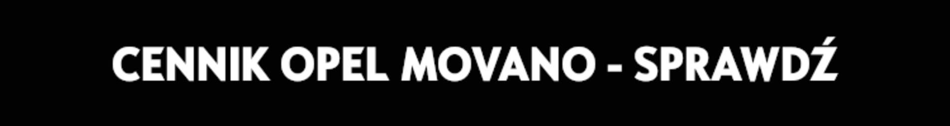 Cennik Movano