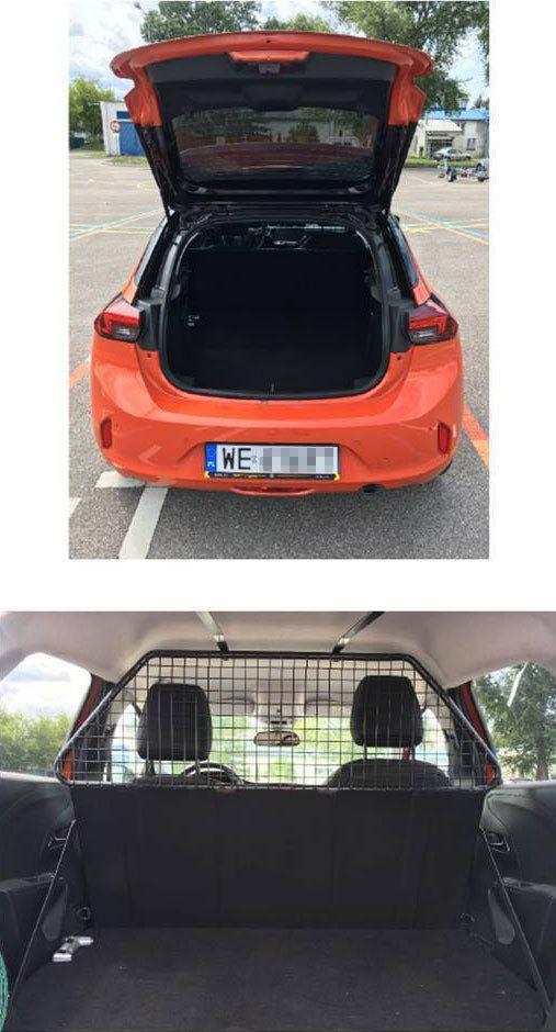 Opel Corsa F Van konwertowana kratka
