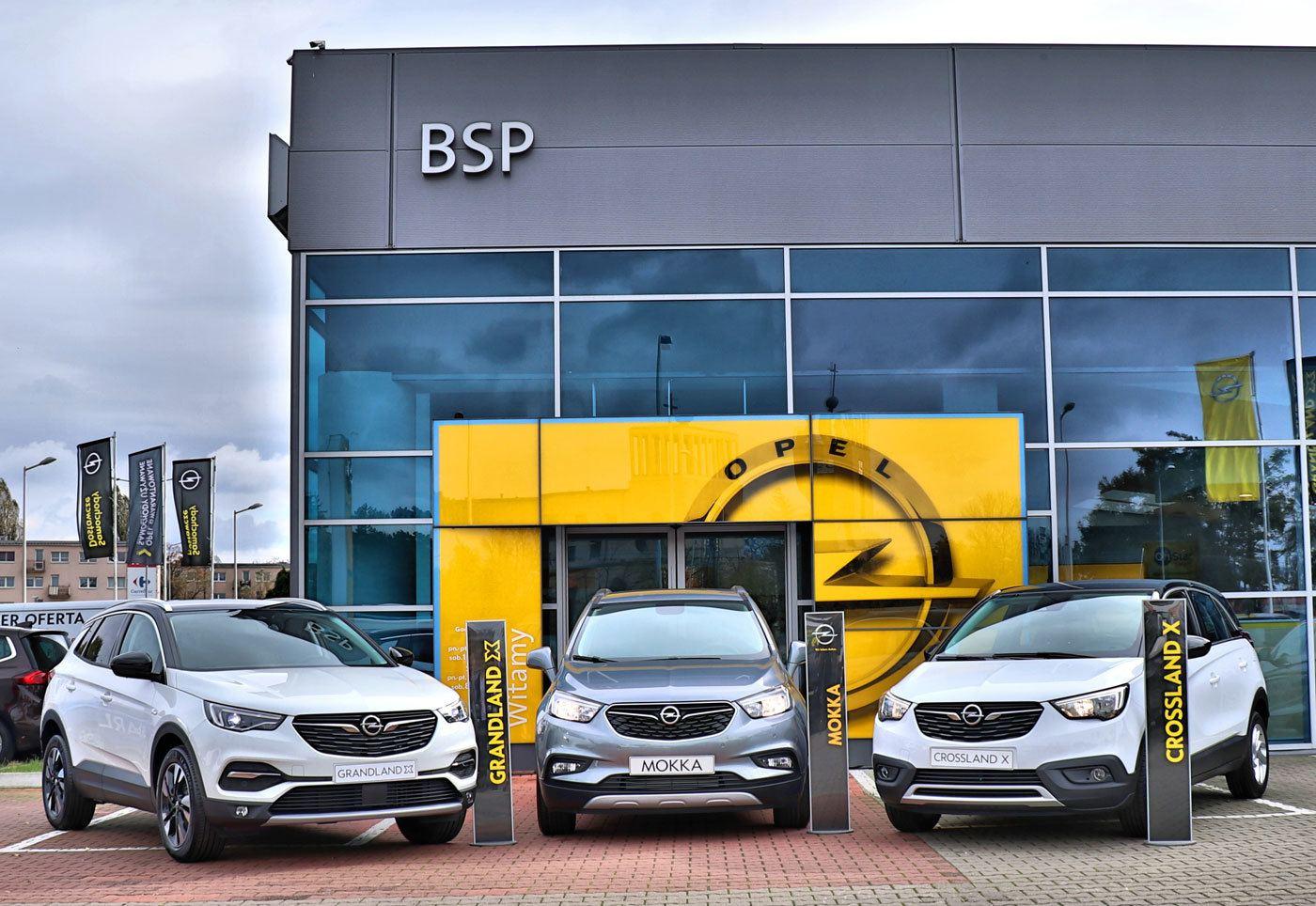 Crossovery Opel: Grandland X, Mokka X, Crossland X