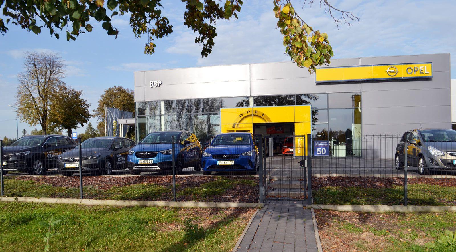 Dealer Opel Piotrków Trybunalski