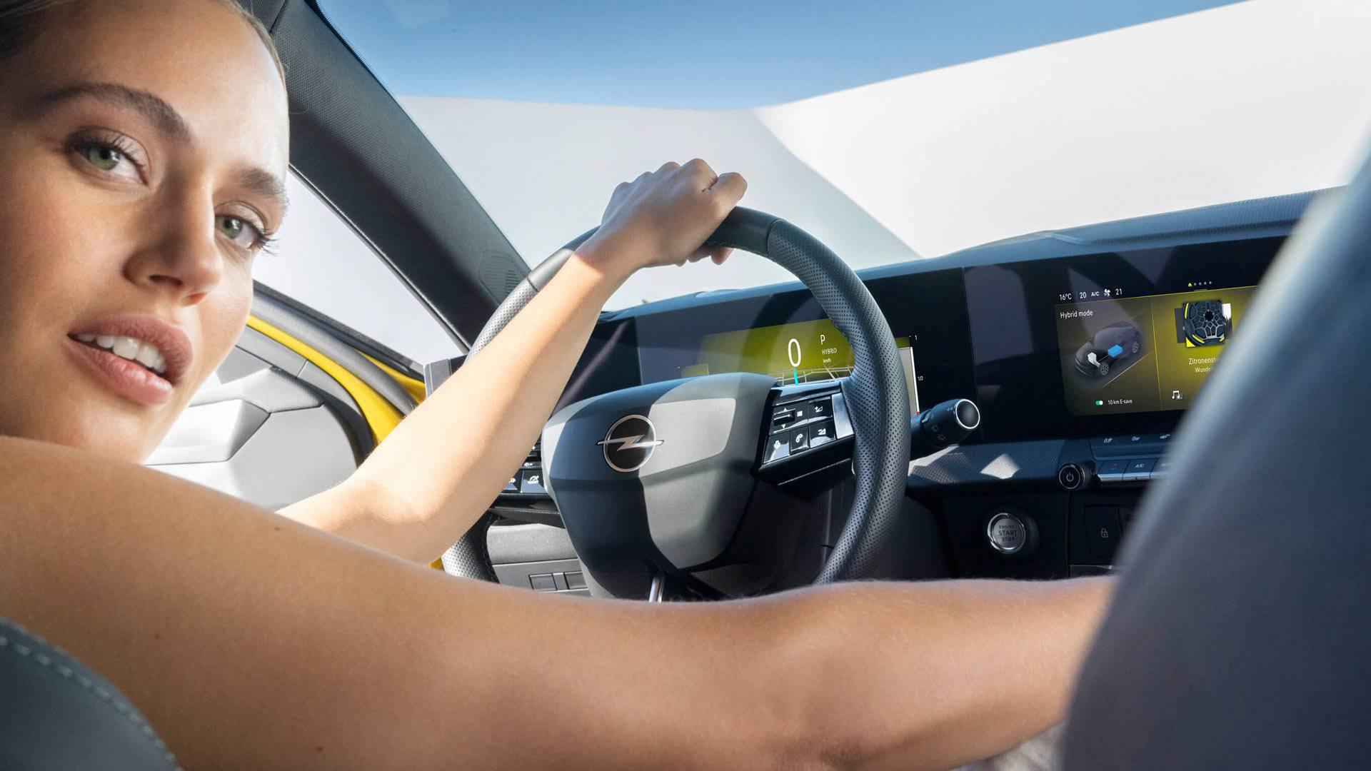 Deska rozdzielcza Opel Astra VI