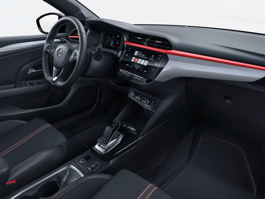 Deska rozdzielcza Opel Corsa F
