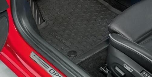 Dywany Gumowe Opel Astra