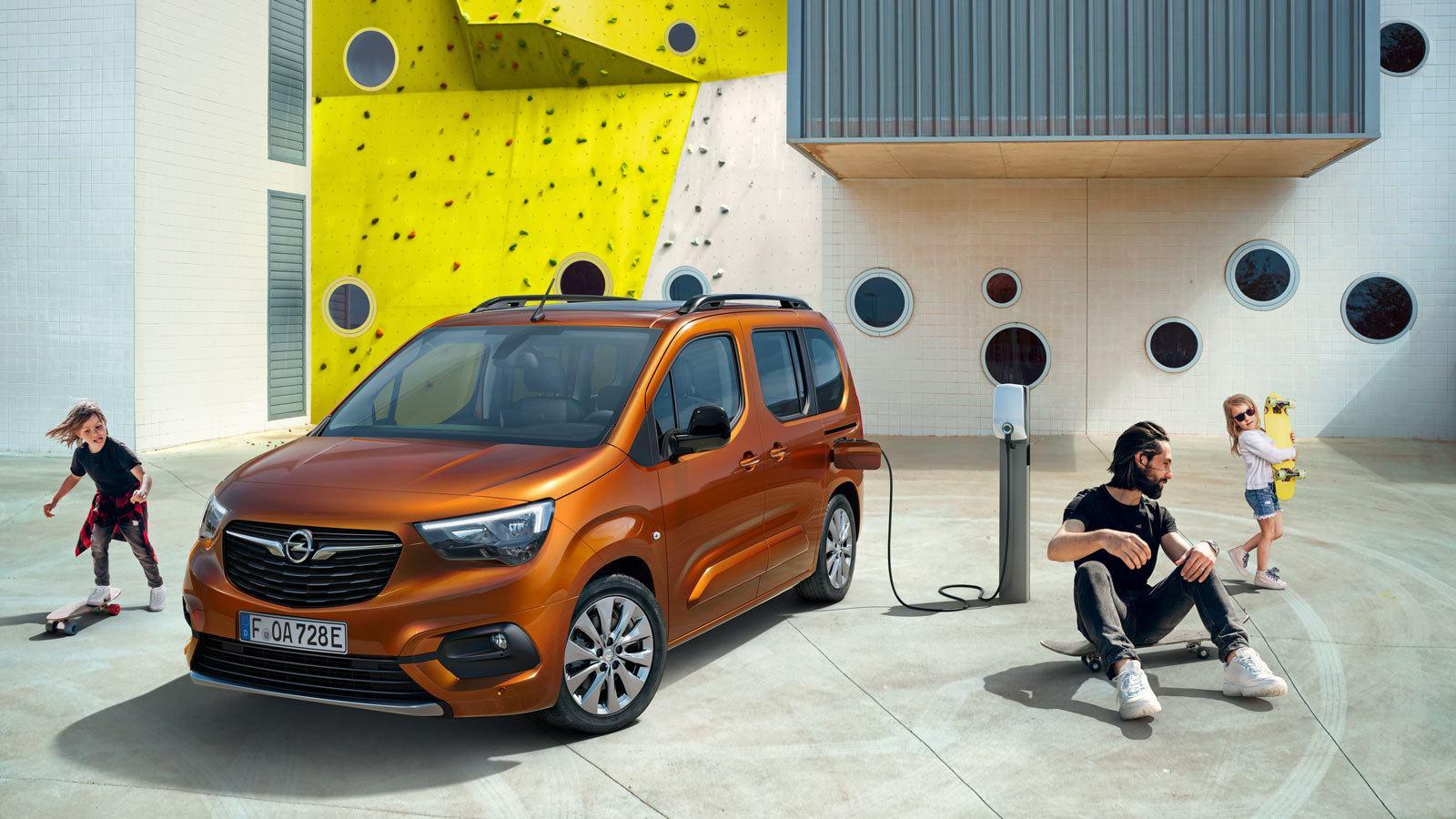 Opel Combo-e Life elektryk, rodzina