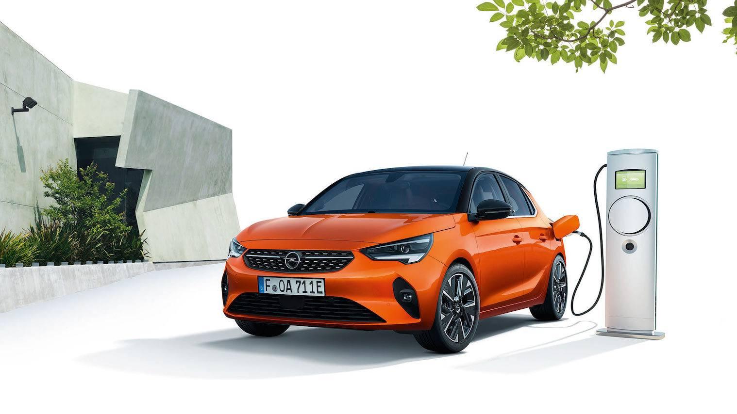 Elektryczny Opel Corsa-e na prąd