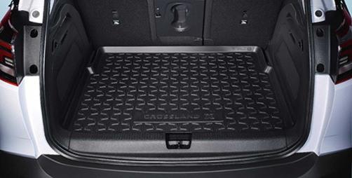 Gumowa mata bagażnika Opel Crossland X