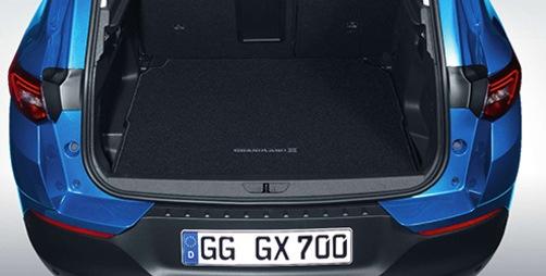 Welurowa mata bagażnika Opel Grandland X