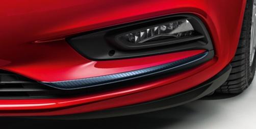 Nakładka karbon reflektor przeciwmgielny Opel Astra V