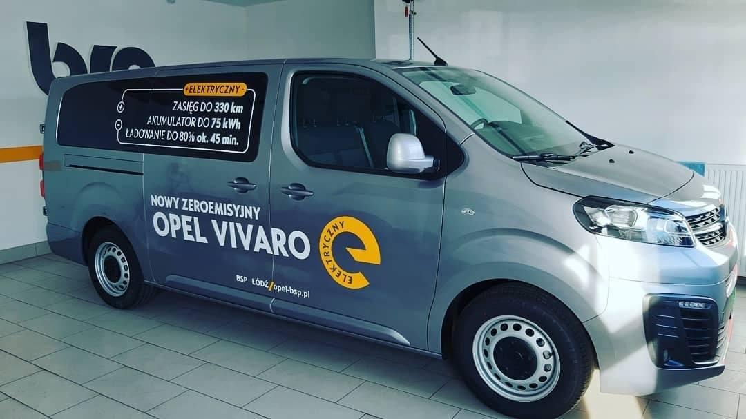 Opel Vivaro-e elektryczny