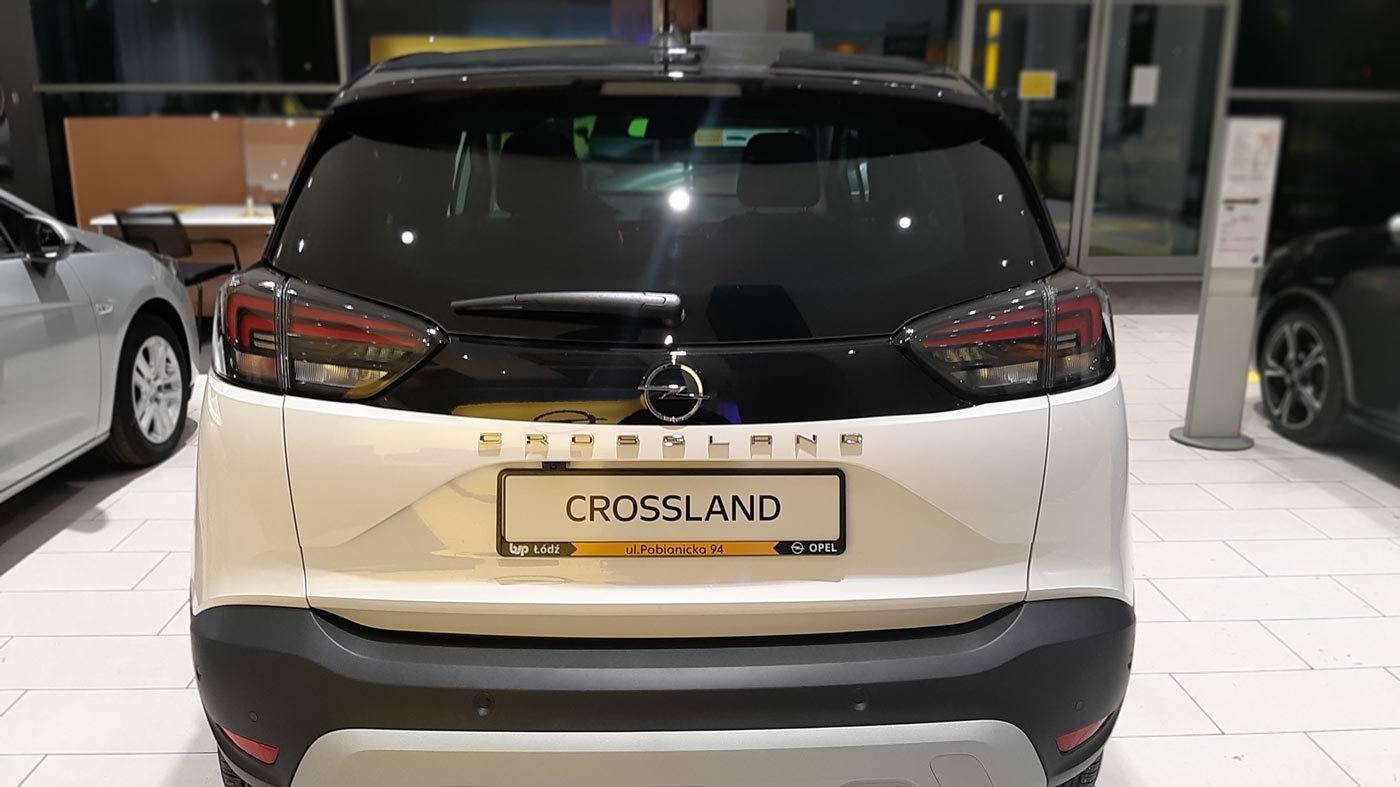Nowy Crossland tył