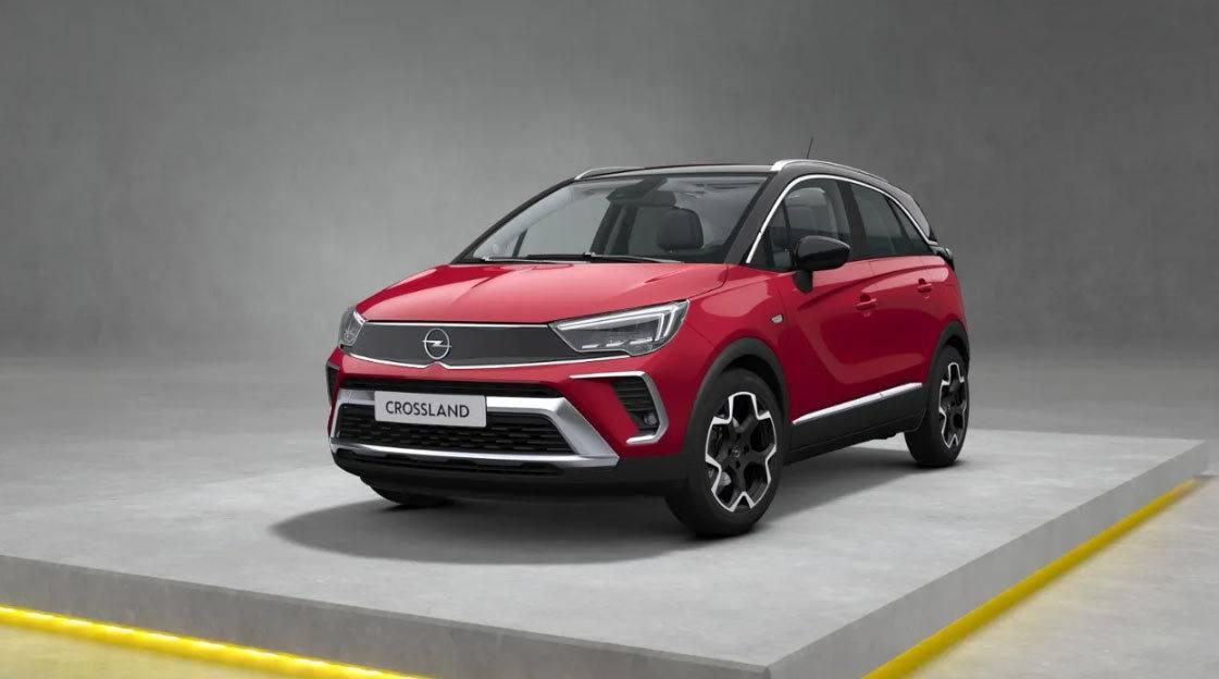 Nowy Opel Crossland, po liftingu