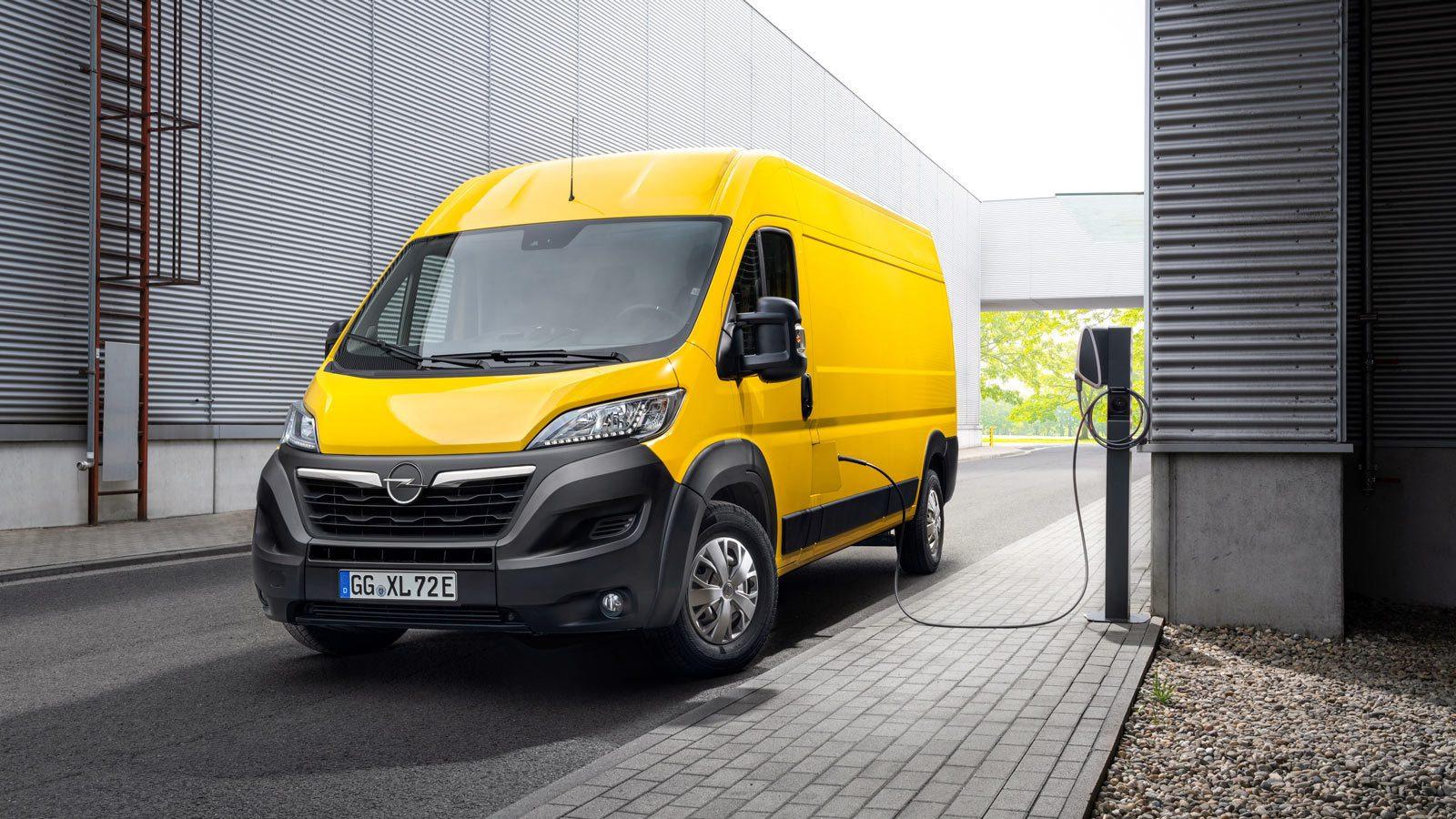 Nowy Opel Movano-e elektryczny